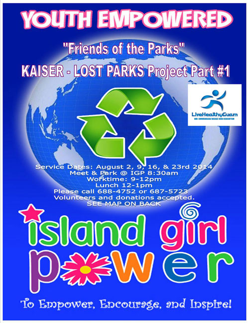 Friends of the Parks- Kaiser LOST PARKS Project